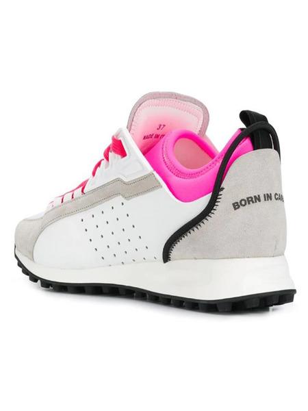 Кроссовки с яркими шнурками Dsquared2, фото