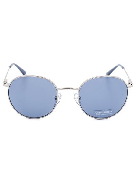 Круглые солнцезащитные очки CK18104S 045 Calvin Klein, фото