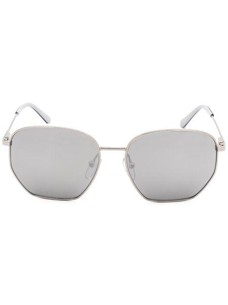 Квадратные солнцезащитные очки в тонкой оправе CK19102S 046 Calvin Klein фото
