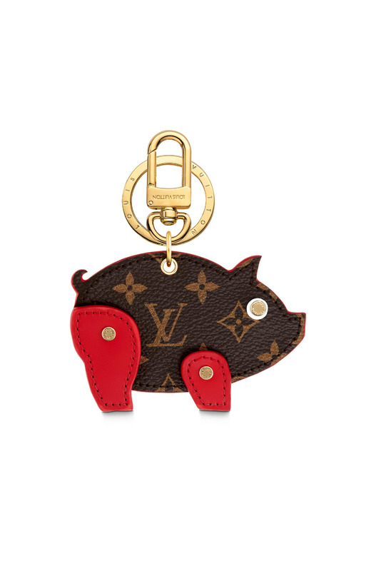 Брелок Louis Vuitton Figurine PIG Канва Monogram