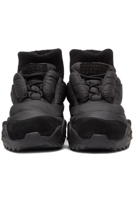 Черные кроссовки Puffer Maison Margiela, фото