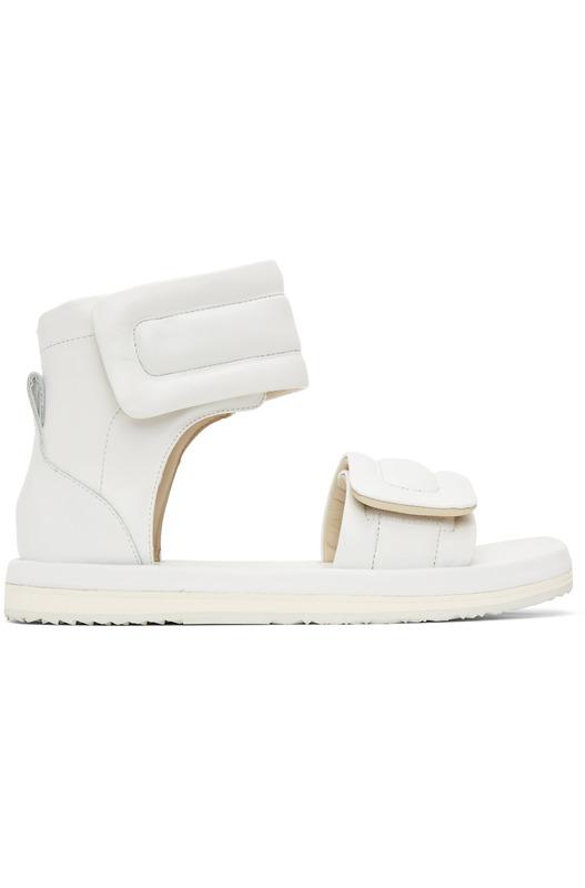 Женские белые сандалии Future