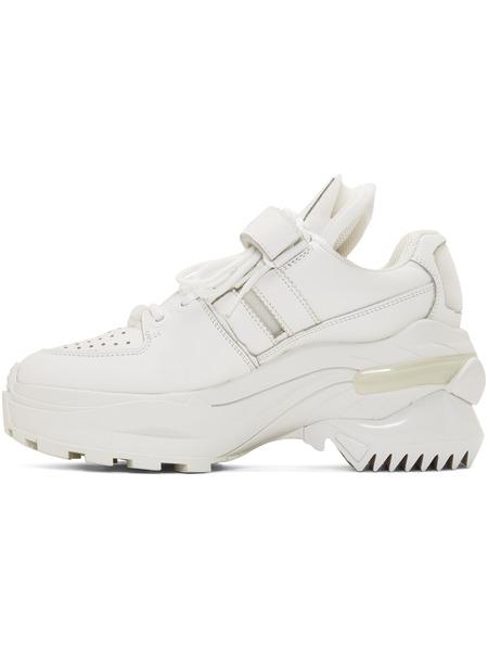 Белые ретро кроссовки MM6 Maison Margiela, фото