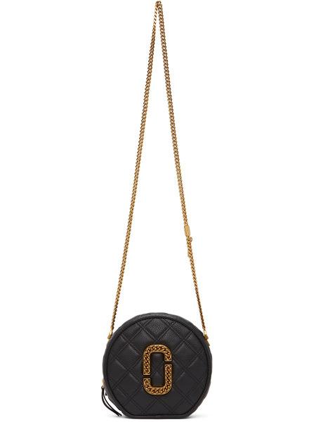 Черная круглая сумка 'The Status' Crossbody Marc Jacobs фото