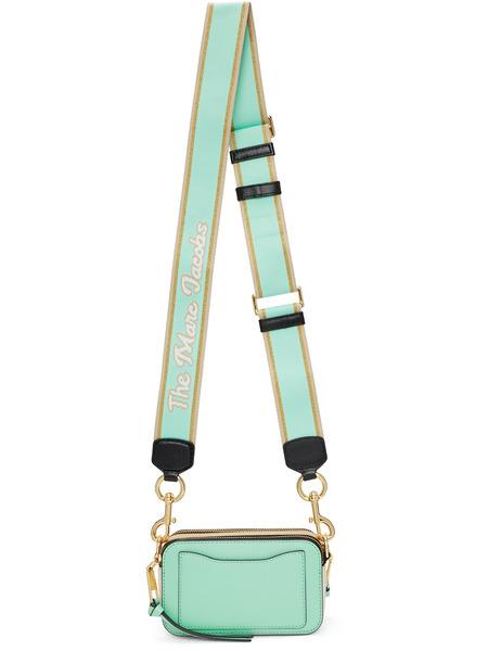 Зеленая маленькая сумка Snapshot Marc Jacobs, фото