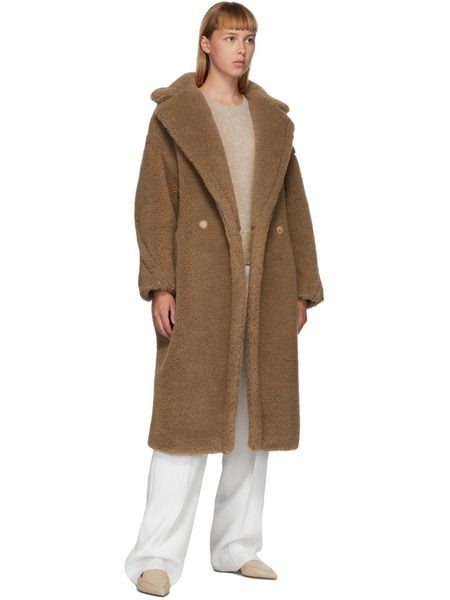 Светло-коричневое пальто Teddy Bear Icon