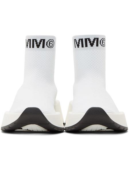 Белые высокие кроссовки Second Skin Maison Margiela, фото