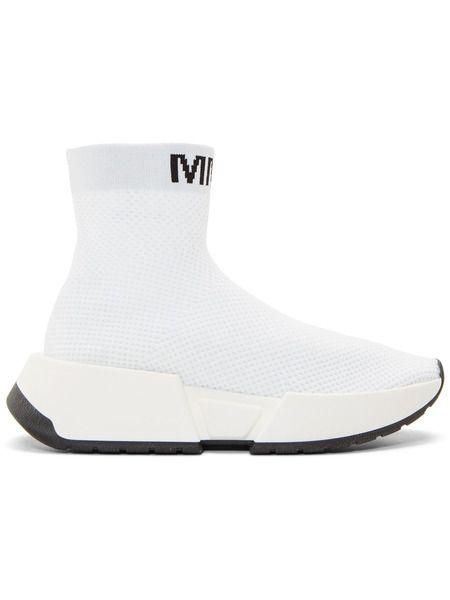 Белые высокие кроссовки Second Skin Maison Margiela фото