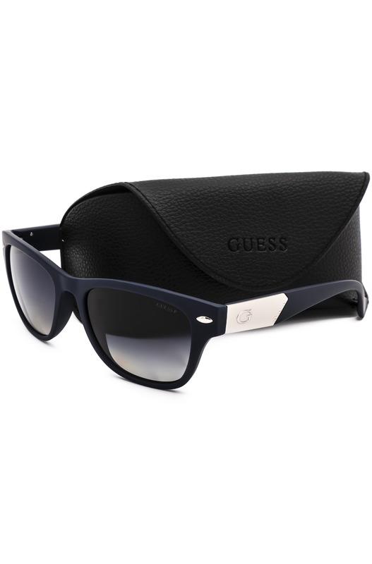 Мужские черные солнцезащитные очки GU1018P 92W Guess