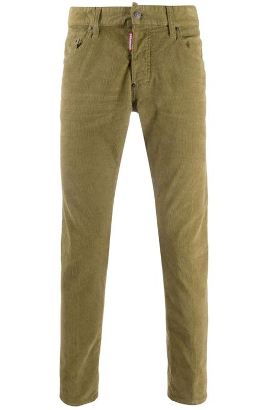 Мужские джинсы Slim-Fit хаки