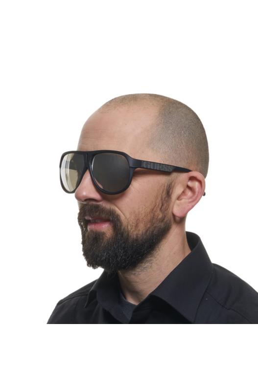 Мужские солнцезащитные очки овальной формы GU6729 02C Guess