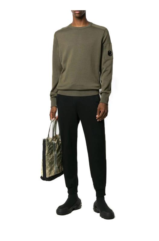 Мужской свитшот с карманом на рукаве C.P. Company, фото
