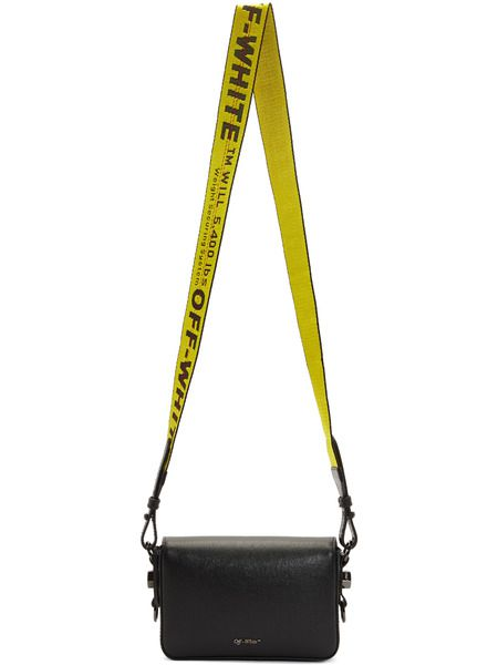 Черная сумка в полоску Mini
