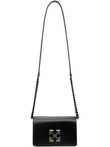 Черная сумка с логотипом Jitney 0.5