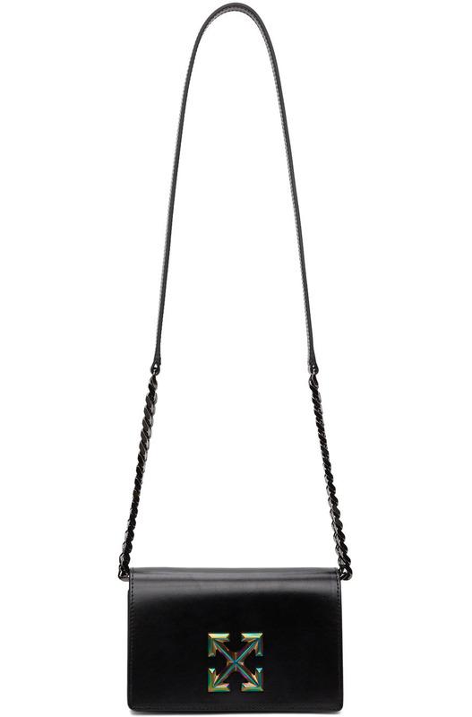 Черная сумка с логотипом Jitney 0.5 Off-White, фото