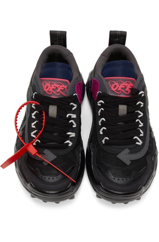 Черные кроссовки Off-White ODSY-1000 Off-White