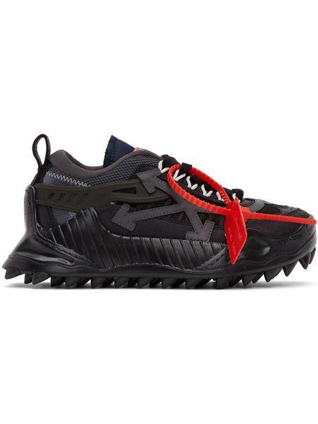 Черные кроссовки Off-White ODSY-1000
