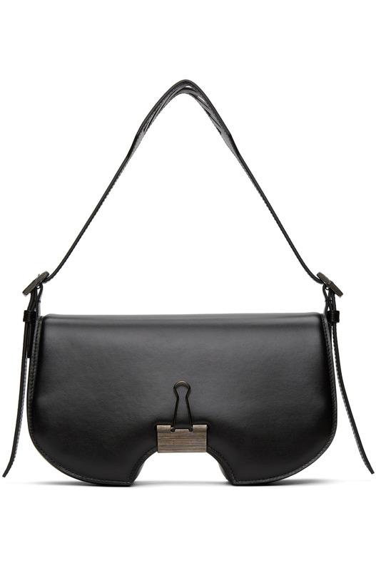 Черная сумка с клапаном Off-White, фото