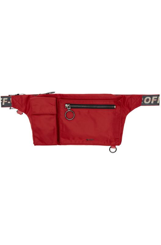 Красная поясная сумка Pockets Fanny Pack Off-White, фото
