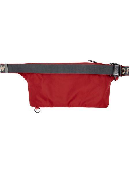 Красная поясная сумка Pockets Fanny Pack