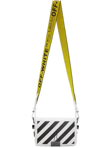 Белая сумка в полоску с ремнем Off-White фото