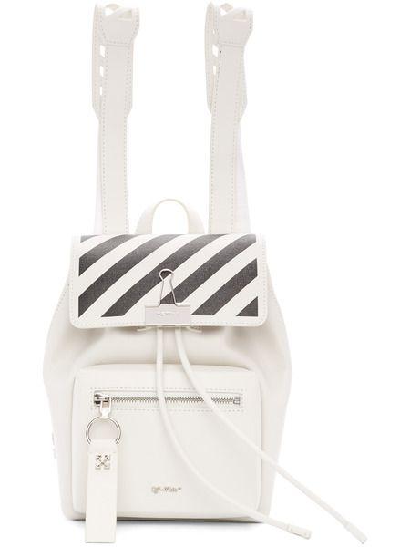 Белый рюкзак Diag Off-White фото