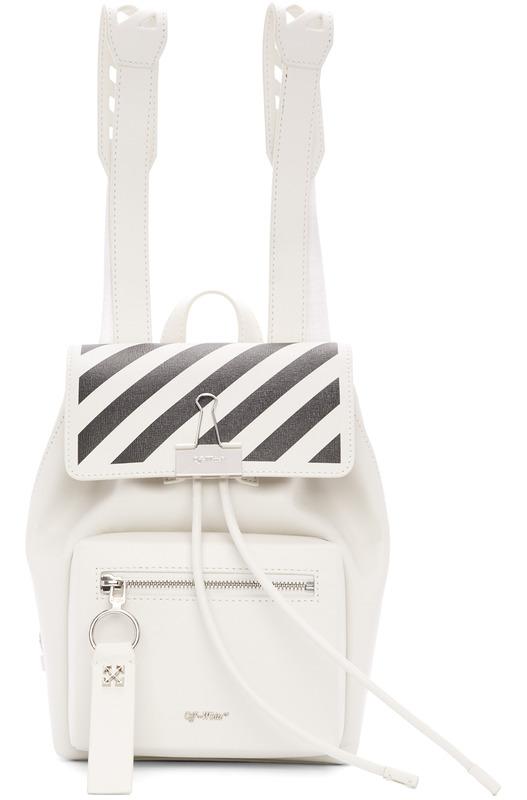 Белый рюкзак Diag Off-White