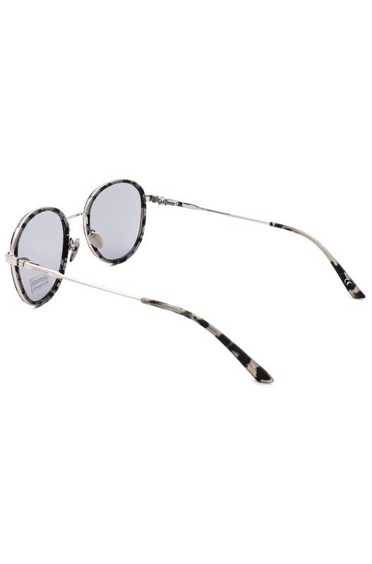 Округлые солнцезащитные женские очки CK18101S 071 Calvin Klein