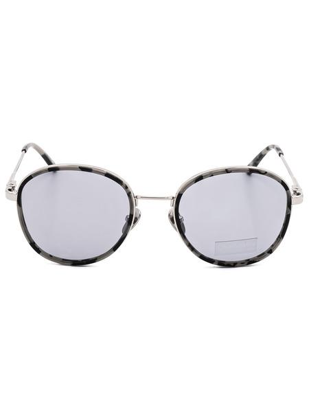 Округлые солнцезащитные женские очки CK18101S 071 Calvin Klein, фото