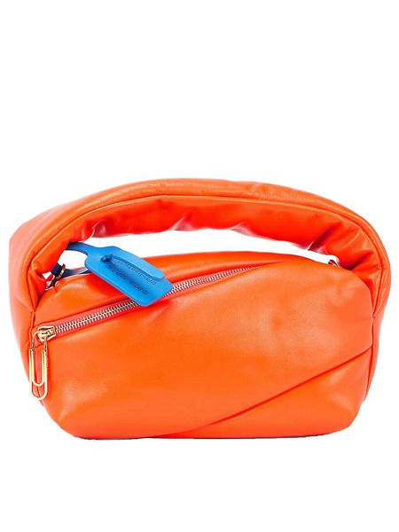Оранжевая сумка Pump Pouch Off-White фото