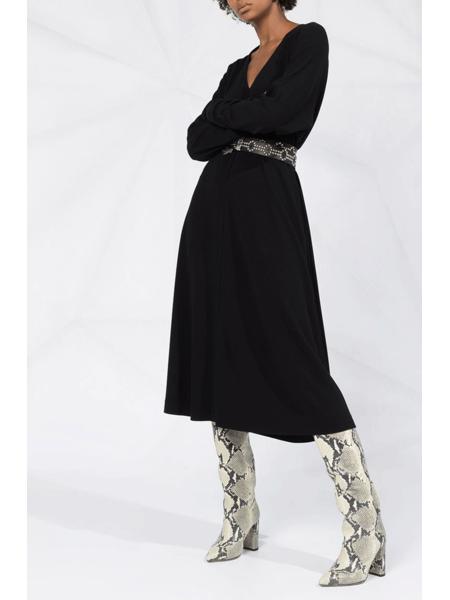 Платье-трапеция с длинными рукавами Dsquared2, фото