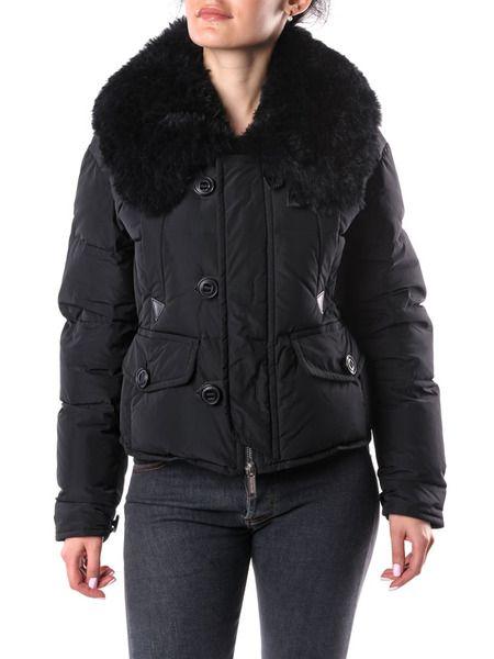 Пуховая куртка на пуговицах Dsquared2 фото