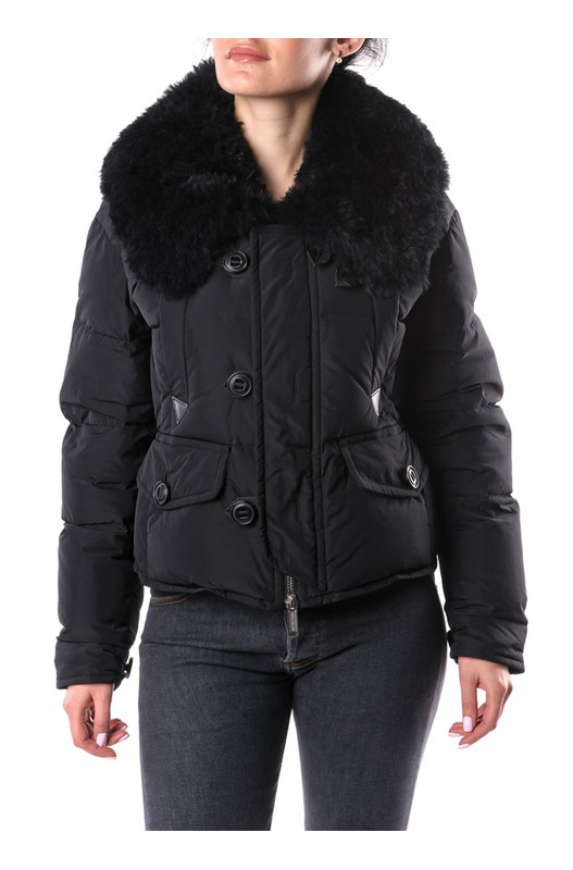 Пуховая куртка на пуговицах Dsquared2, фото