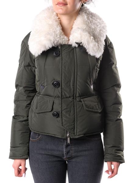 Пуховая куртка с меховым воротником Dsquared2, фото