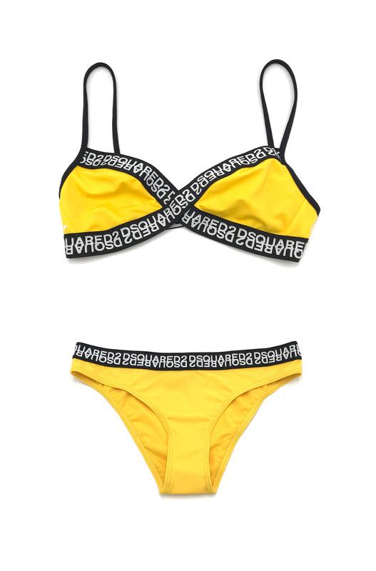 Раздельный купальник желтого цвета Dsquared2, фото