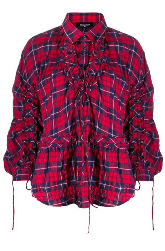 Рубашка в клетку Dsquared2, фото
