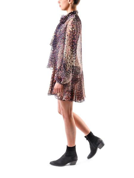 Шелковое короткое платье Dsquared2, фото