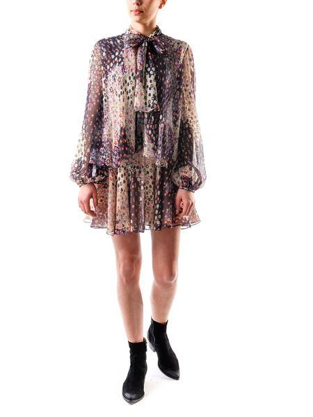 Шелковое короткое платье Dsquared2 фото