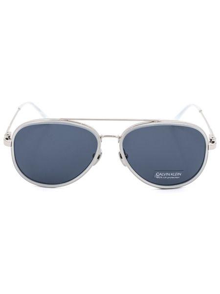 Солнцезащитные очки-авиаторы CK18103S 450 Calvin Klein фото
