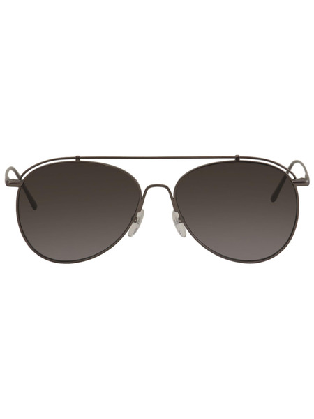 Солнцезащитные очки-авиаторы из бронзы CK2163S-61 Calvin Klein, фото