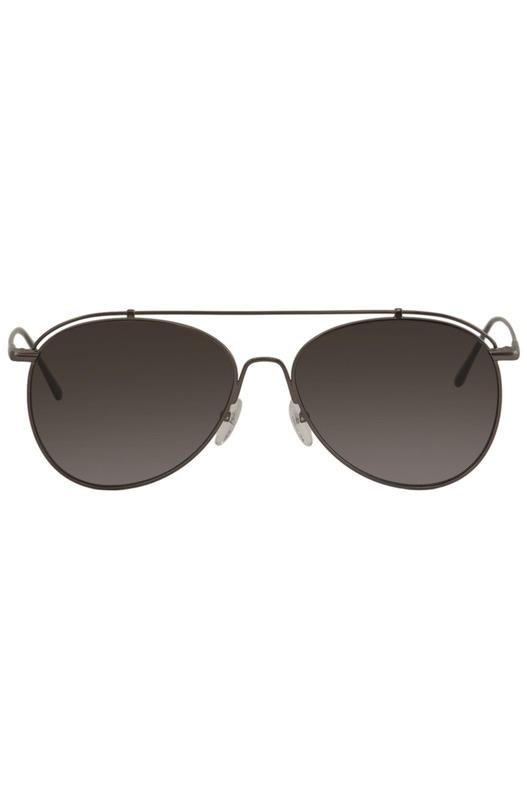 Солнцезащитные очки-авиаторы из бронзы CK2163S-61 Calvin Klein