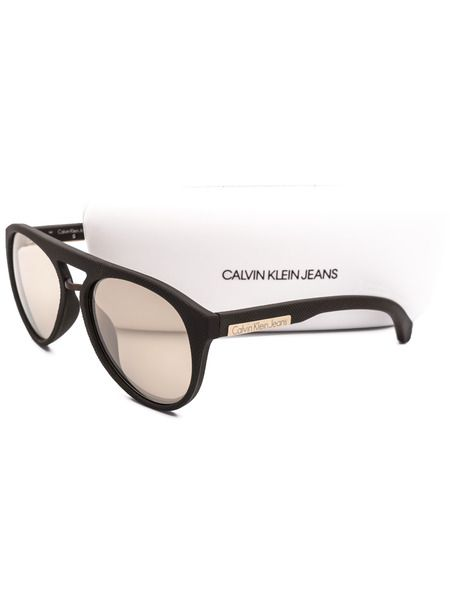 Солнцезащитные очки-авиаторы в толстой оправе CKJ800S 246