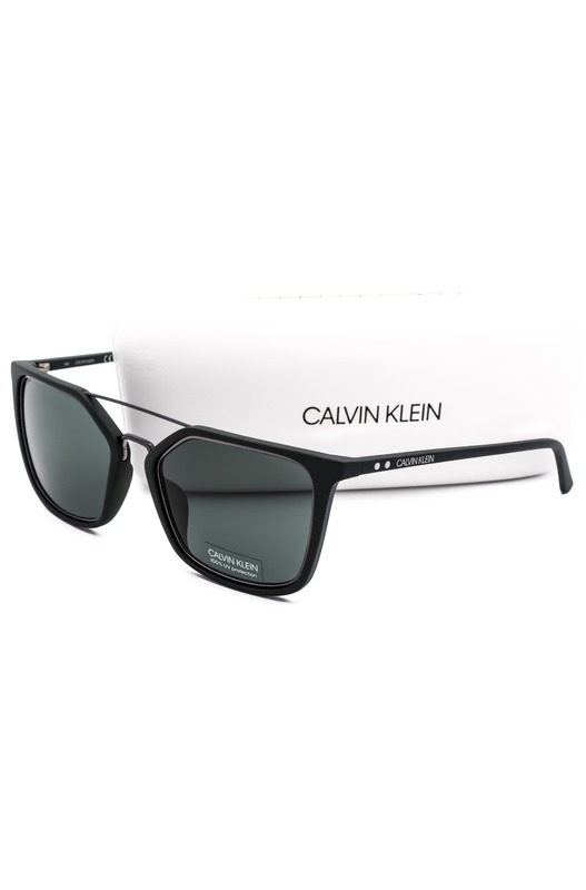 Солнцезащитные очки черного цвета CK18532S 307 Calvin Klein