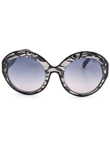 Солнцезащитные очки EP0006 05B в оправе стилизованной под кружево Emilio Pucci фото