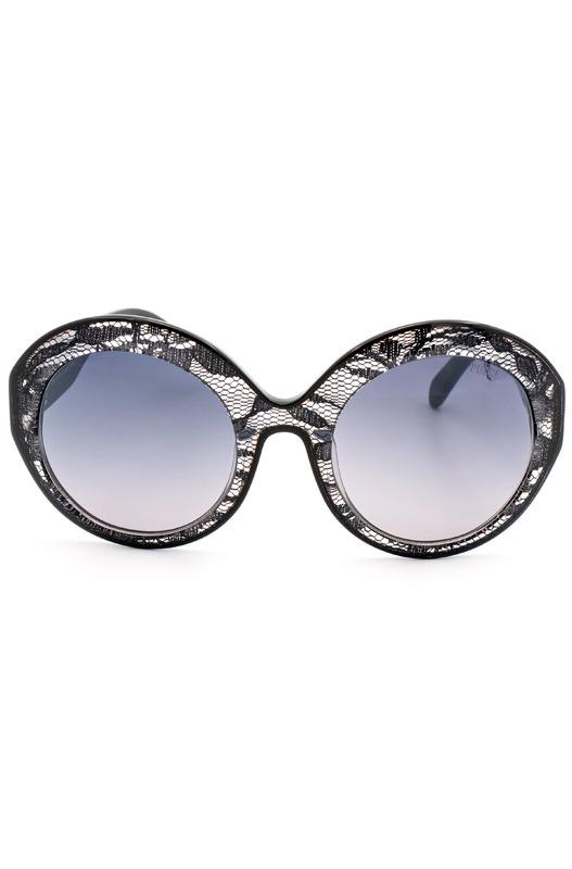 Солнцезащитные очки EP0006 05B в оправе стилизованной под кружево Emilio Pucci, фото