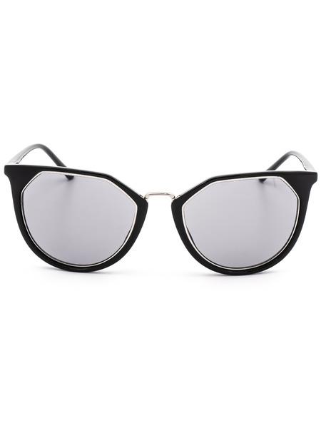 Солнцезащитные очки формы кошачий глаз CK18531S 39184 001 Calvin Klein, фото