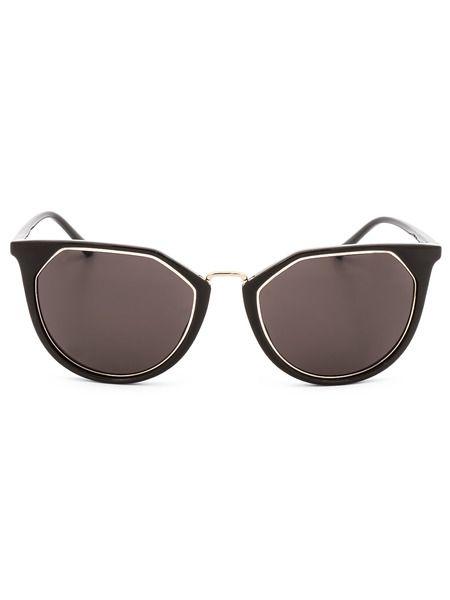 Солнцезащитные очки формы кошачий глаз CK18531S 39184 201 Calvin Klein фото