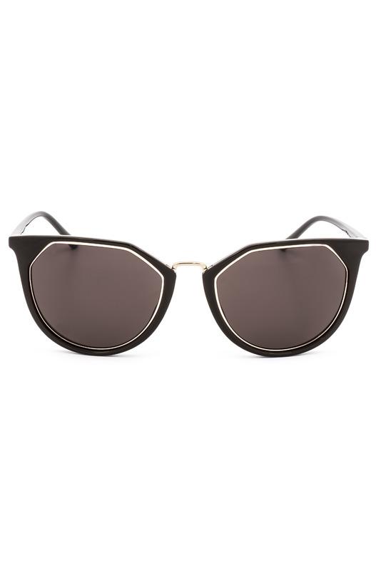 Солнцезащитные очки формы кошачий глаз CK18531S 39184 201 Calvin Klein