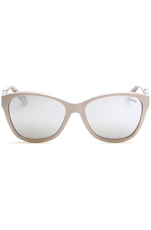 Солнцезащитные очки GU7451 57C бежевые Guess