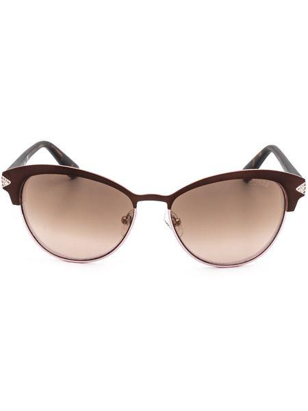 Солнцезащитные очки GU7515-S 49G коричневые Guess фото